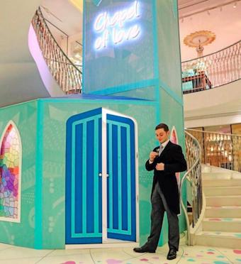 Fortnum & Mason's Chapel of Love: February 2020