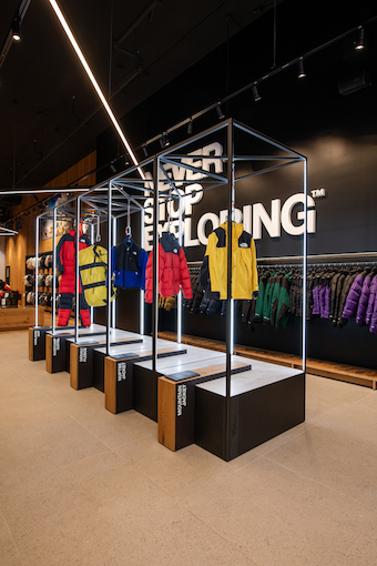 The North Face, SoHo, NYC  - new look: August 2019